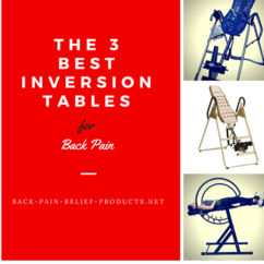 best inversion tables for back pain relief